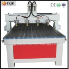 4 heads CNC Engraving Cutting machine
