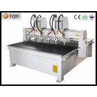 6 heads CNC Engraving Cutting machine